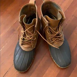 Ll bean duck boots size 12